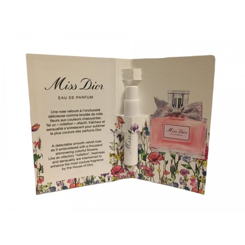 Dior Miss Dior Eau de Parfum (2021) 1ml EDP Moterims kvepalų mėginukas