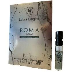 Laura Biagiotti Roma Uomo Cedro 1.5ML EDT kvepalų mėginukas vyrams
