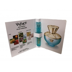 Versace Dylan Turquoise 1ml EDT Moterims